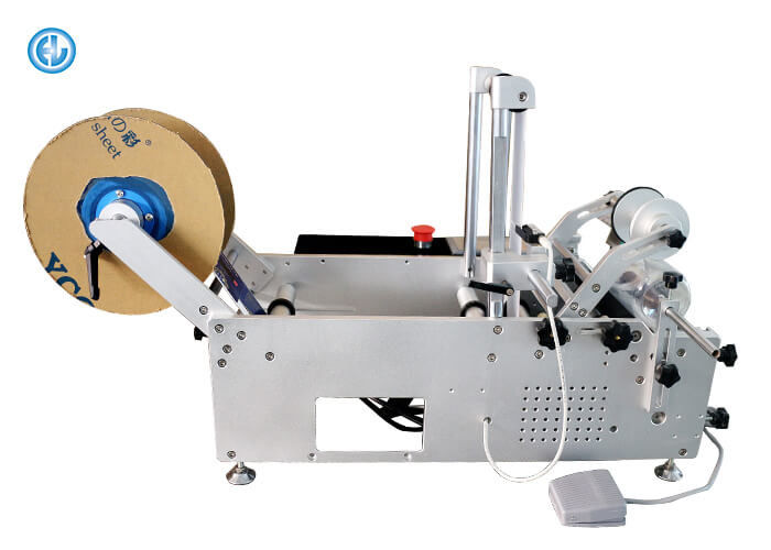 Small Bottle Manual Labeling Machine With Surround Labeling Function