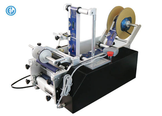 China Desktop Manual Label Applicator Machine , Shrink Sleeve Labeling Machine factory