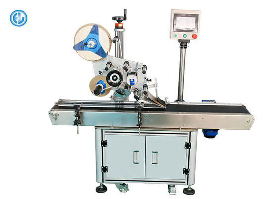 Stainless Steel Automatic Labeling Machine For Paper Scratch Card / T-Shirt