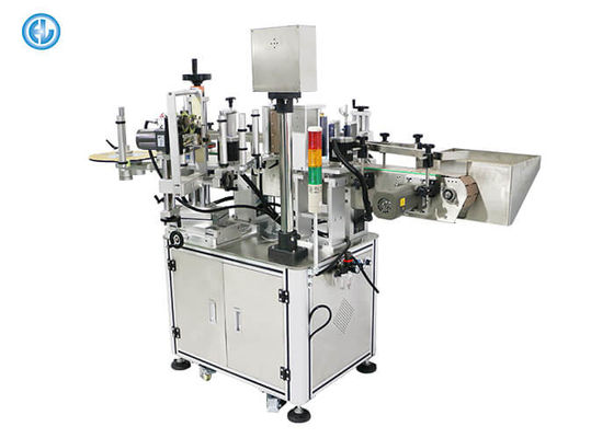 China Vitamin Bottle Can Labeling Machine , Print And Apply Labeler 220V/50HZ Power factory