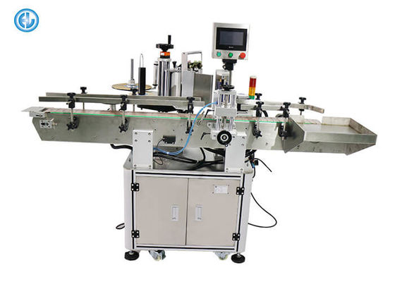 Circular Objects Sleeve Labeling Machine For Round Cans Water Bottle Shrink Label Machine