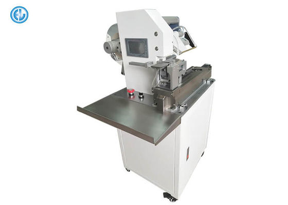 China Automatic Folding Wire Labeling Machine For Cable Identification Tags factory