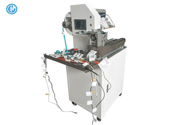 China Semi Automatic Labeling Machine For Folding Cable Wire High Stability factory