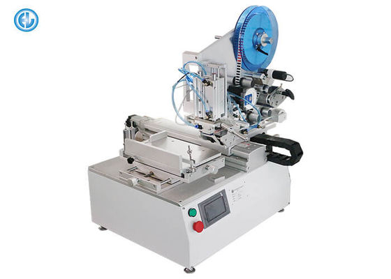 Precision Manual Round Bottle Labeling Machine ±0.2mm High Accuracy