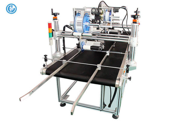 China Large Automatic Carton Labeling Machine , Double Head Sticker Labeling Machine factory