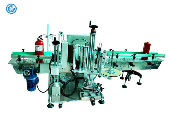 Round Cosmetic Can Labeling Machine , 5L Oil Bottle Labeling Machine