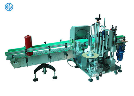 China Round Containers Label Applicator Machine Stainless Steel Material For Big Pail factory
