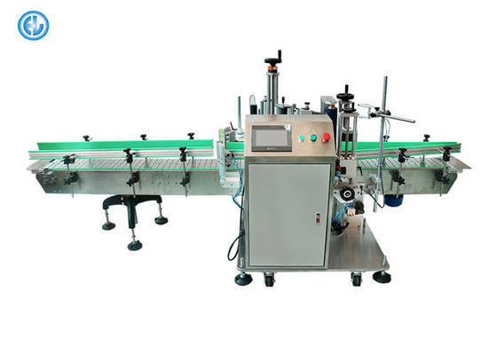 Blend Oil Full Automatic Labeling Machine , Bottle Bucket Label Applicator