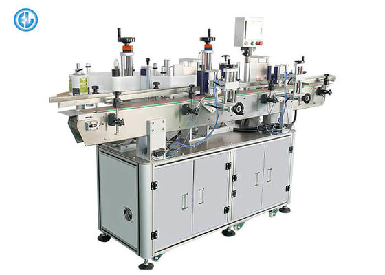China Front Back Double Side Labeling Machine , Bottle Label Applicator Machine factory