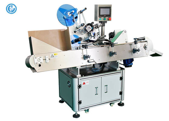 China Paper Pipe Automatic Label Applicator Machine For Crayon Ballpoint Pen Small Bottle Labeling Machine factory