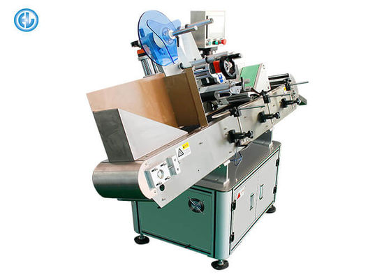 China Autoamtic Horizontal Label Applicator Machine For Blood Test Tubes Unstable Objects factory