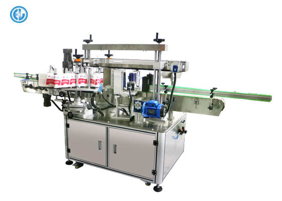 China Automatic Plastic Pipe Tube Labeling Machine Top And Bottom Double Heads factory