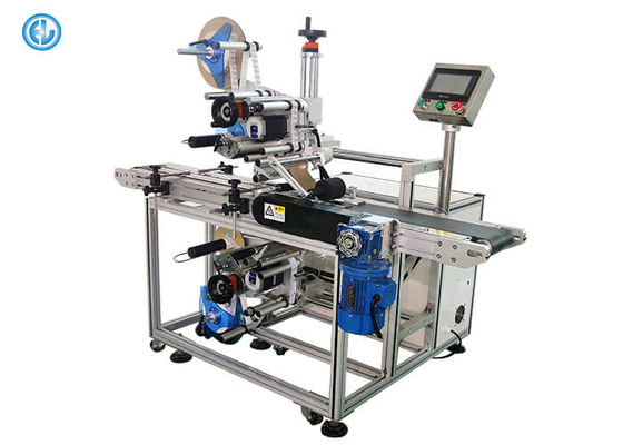 China CE Standard Automatic Labeling Machine With Top / Bottom Label Heads factory