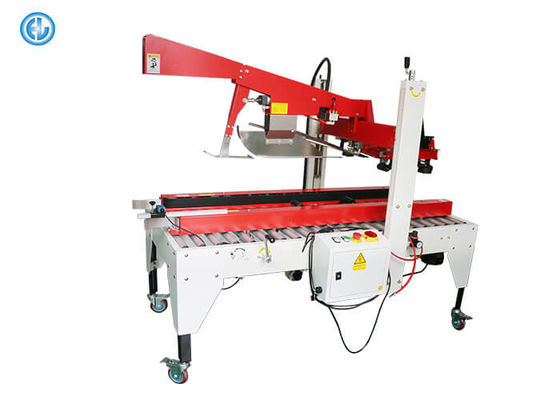 China Production Line Semi Automatic Labeling Machine Carton Forming Boxes Sealing factory