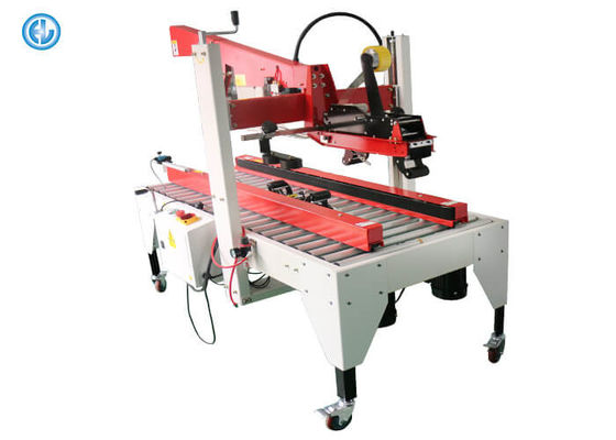 Assembly Line Manual Carton Sealing Machine Adjust Height 220V/50HZ Power
