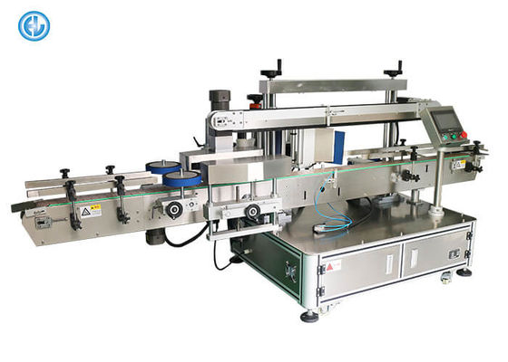 Automatic Round Bottle Flat Labeling Machine Multifunction High Speed Labeller