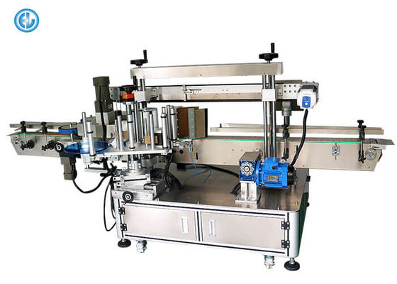 220V 50HZ Auto Adhesive Sticker Labeling Machine Fast Speed 30-120pcs / Min