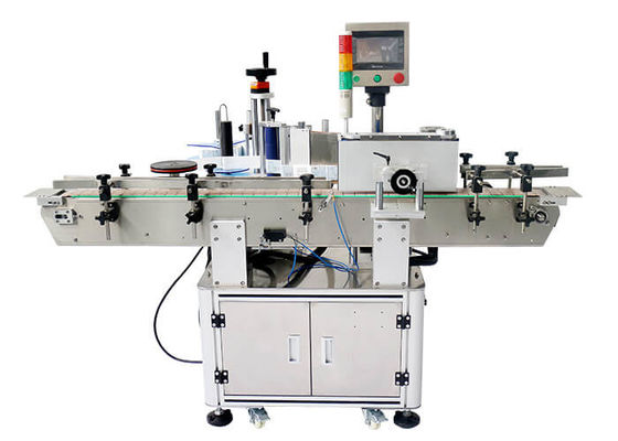 China Stability Wrap Around Labeling Machine For Bottles High Accuracy Electric Drive Bottle Label Applicator Machine factory