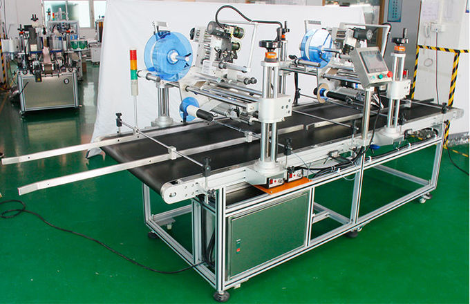 Multi Functional Automatic Label Applicator , Plan Labeller For Carton