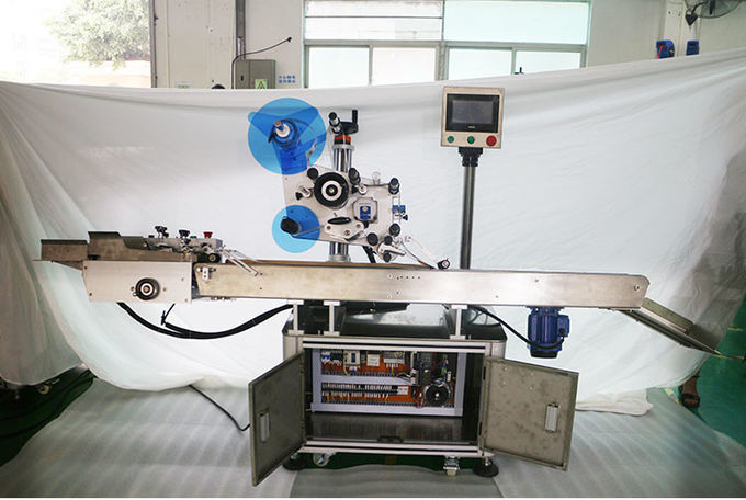 Automatic Adhesive Labeling Machine , Label Applicator Machine For Bags