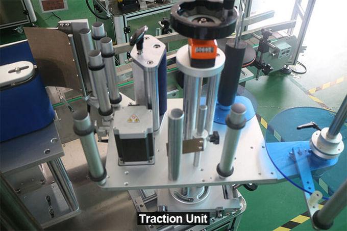 Automatic Round Bottle Labeling Machine , Beverage Bottle Labeling Machine