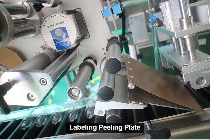 Autoamtic Horizontal Bottle Labeling Machine High Speed For Blood Test Tubes