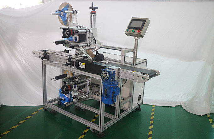 Automatic Sticker Labeling Machine , Front And Back Self Adhesive Labeling Machine