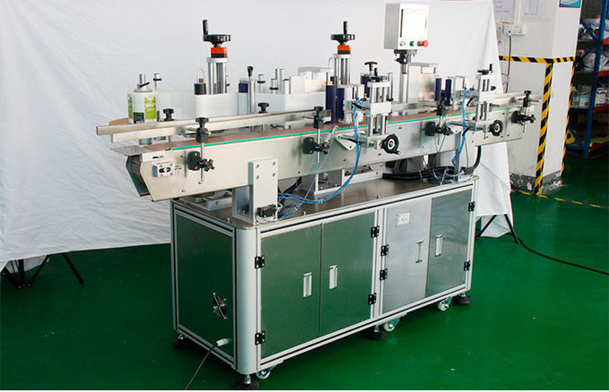 Small Scale Bottle Adhesive Labeling Machine For Facial Cosmetic