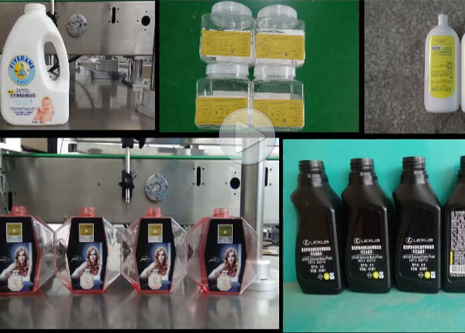 Stainless Steel Double Side Labeling Machine For Square Round Bottles