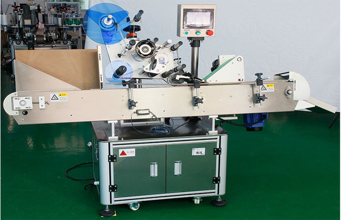 Horizontal Vial Wrap Around Labelling Machine High Speed Low Occurrence
